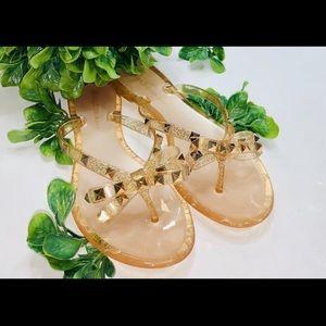 Wild Diva jelly sandals
